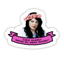 callie torres greys anatomy Sticker