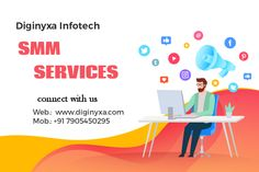 Hire us for a topmost reputable social media marketing company that could promote your dream business. Connect with diginyxa to get the best social media marketing services. Social Media Marketing Companies, Marketing Tools, Social Networks, Internet Marketing, Networking Websites, Improve Communication, Social Media Channels, Competitor Analysis, Connect