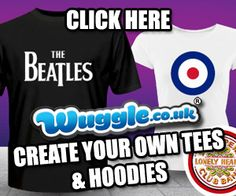 a9fab81b Music T Shirts, Hoodies, Polo's & Gifts at Wuggle. Personalise and  customise