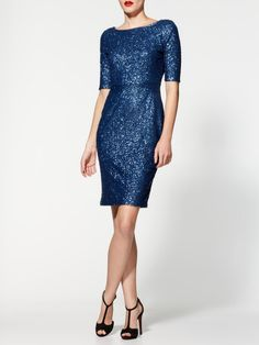 Sequin Midi Dress...very NYE :)
