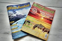 Wildjunket magazine in print! ( if you are not a fan of wildjunket - ask yourself why not?)