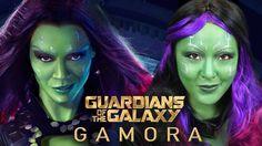 GAMORA   Guardians of The Galaxy Makeup Tutorial