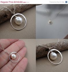 Possible wedding necklace, a different kind of pearl