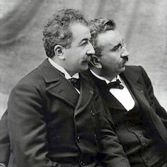 The Lumiere brothers. Imagine their feelings when they were moving from photography to filmmaking...Who do you think the history books will talk about when we look back at the transition from #film to #VR? #filmhistory #filmhistorytrivia