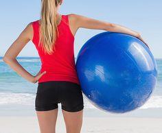 4 ejercicios con bola suiza