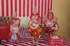 """Photo 15 of 36: Circus /Carnival Party / Birthday """"Under the Big Top"""" 