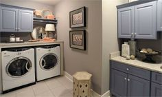 Lewis Center Laundry Room from Mullet Cabinet