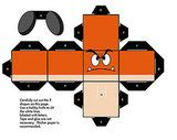 About 8 different Mario papercrafts to build. Awesome.