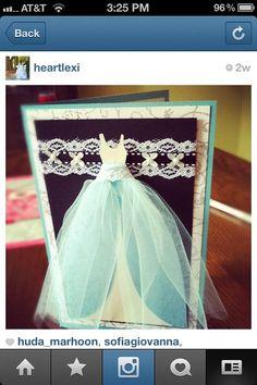pretty wedding card! #cardmaking