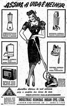 Este anúncio de 1947 que vendia eletrodomésticos para facilitar a vida da mulher e que seria considerado sexista hoje. | 26 anúncios antigos que seriam impensáveis nos dias de hoje