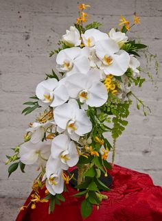 amazing cascade bouquet- by blossom alliance