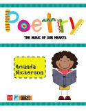This 40 page packet includes everything you need to launch a poetry unit in your classroom! $6.50
