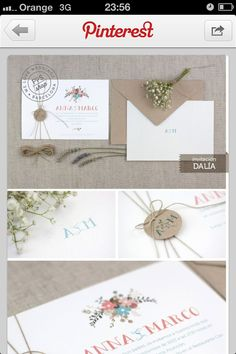 1000 Images About Invitaciones Y Sellos On Pinterest