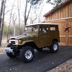 """Built my #fj40 ten years ago. Still my fav. #rohdebuilt #toyotalandcrusier"""