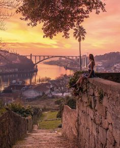 20 Best Instagram Spots in Porto - Including Hidden Gems! Visit Portugal, Portugal Travel, Spain And Portugal, Sintra Portugal, Places To Travel, Places To Visit, Porto City, Best Instagram Photos, Best Sunset