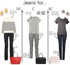 Jeans for Classic Types