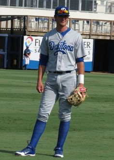 Kris Bryant with the Daytona Cubs, the Chicago Cubs minor league team.