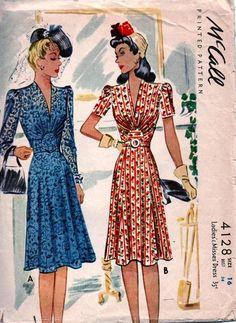 McCall 4128 vintage dress