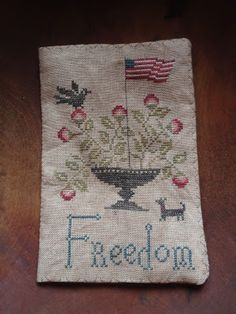 """Country Sampler Freedom Needle Book"" designed by Stacy Nash - Winding Vine Wanderings"