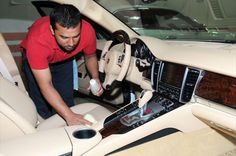 Dịch vụ chăm sóc nội thất ô tô chuyên nghiệp