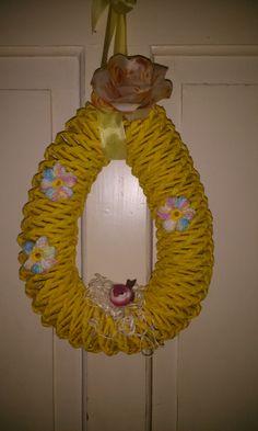Osterkranz Crochet Earrings, Mirror, Furniture, Home Decor, Repurpose, Decoration Home, Room Decor, Mirrors, Home Furnishings