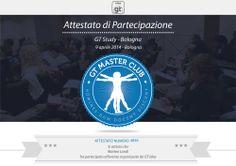 Attestato per il Bologna Web Project