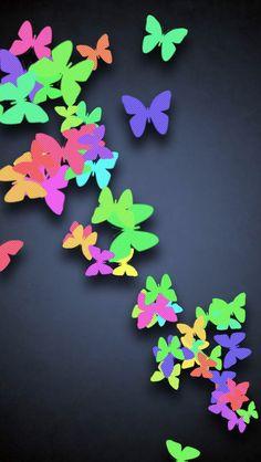 iPhone Wall: Butterflies tjn