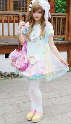 Fairy Kei, Pop Kei, Magical Girl, Pastel Fashion ♥