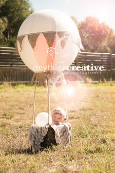 Hot air balloon first birthday:)