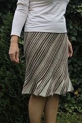 Previously published in Interweave Knits magazine Summer 2011. Pattern has been updated and modified. Specifically the waistline has been updated and instructions on how to modify for different weights of yarn and skirt length have been added. Sport or fingering weight makes a lovely skirt.