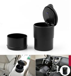 Mad Hornets - Blue LED Light Portable Car Truck Auto Office Cigarette Ashtray Holder Cup Black, $16.99 (http://www.madhornets.com/blue-led-light-portable-car-truck-auto-office-cigarette-ashtray-holder-cup-black/)