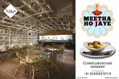 On This #Diwali Kuch Metha Ho Jaye....Get a Complimentary #Dessert form #Sublym Kitchen and #Bar.