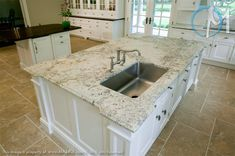 Bianco Antico Granite White Cabinets Marble Vs With