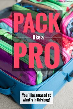 How to Maximize Space in Your Luggage: You'll be amazed at what's in this suitcase packing tips and hacks for your next family vacation