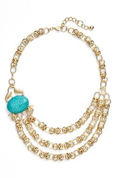 Lilly Pulitzer® 'Claws Off' Link Necklace