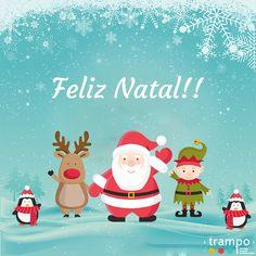 Um Feliz Natal!!  #Festas #Natal #BomNatal #Hohoho #PapaiNoel