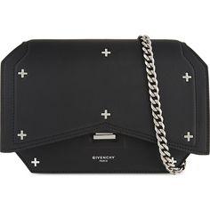 c977c10d66 GIVENCHY - Bow-cut mini leather cross-body bag