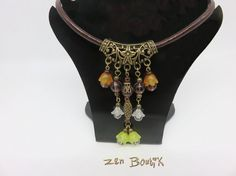 Boho Chic Boheme collier Bohemia Gypsy necklace Bijou par ZenBoutik