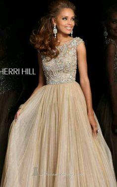 Classy Sherri Hill Prom Dress