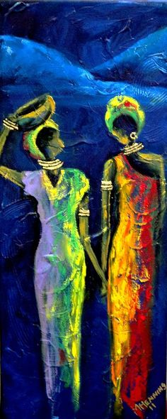 Beautiful Africa4 Painting