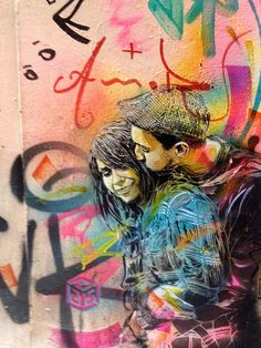 Marseille fr real name Christian Guémy, is a productive graffiti artist from Paris who has created intricate street artwork in Barcelona, Amsterdam, Amazing Street Art, Best Street Art, 3d Street Art, Street Artists, Amazing Art, Graffiti Art, Best Graffiti, Urban Street Art, Urban Art