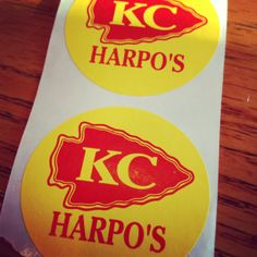 Go Chiefs! #harpos in #westport is a good place to catch the game. #kansascity #chiefs