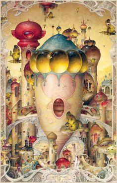 Daniel Merriam Watercolorist Extraordinaire ~ Metropolis