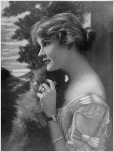 "Eagels in ""Disraeli"" As Lady Clarissa Pevensey. 1917. Portrait by Strauss-Peyton"