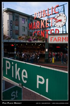 Pikes Place Market, Seattle, WA.  One of my favorite trips ever was to Seattle; I could definitely live there.