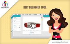 Belt is one of the elements of the  person attire which is obviously get noticed. Use belt designer tool and design a belt according to your choice.