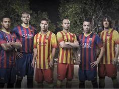 Barcelona presenta sus nuevos uniformes a021d1b50dc5f