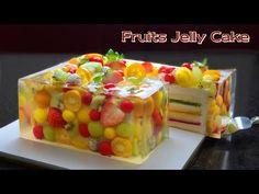 Kupa mérés / gyönyörű gyümölcszselés sajttorta recept / vanília piskóta / ASMR / Fruit Jelly Cake - YouTube Jelly Cheesecake, Jelly Cake, Cheesecake Recipes, Dessert Recipes, Castella Cake Recipe, Recipe Cup, Vanilla Sponge Cake, Specialty Cakes, Cake Decorating Tips