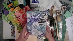 Patti Parish's Gelli JumpStart Journal Demo -- Part 1
