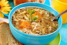 Dršťková polévka z hub